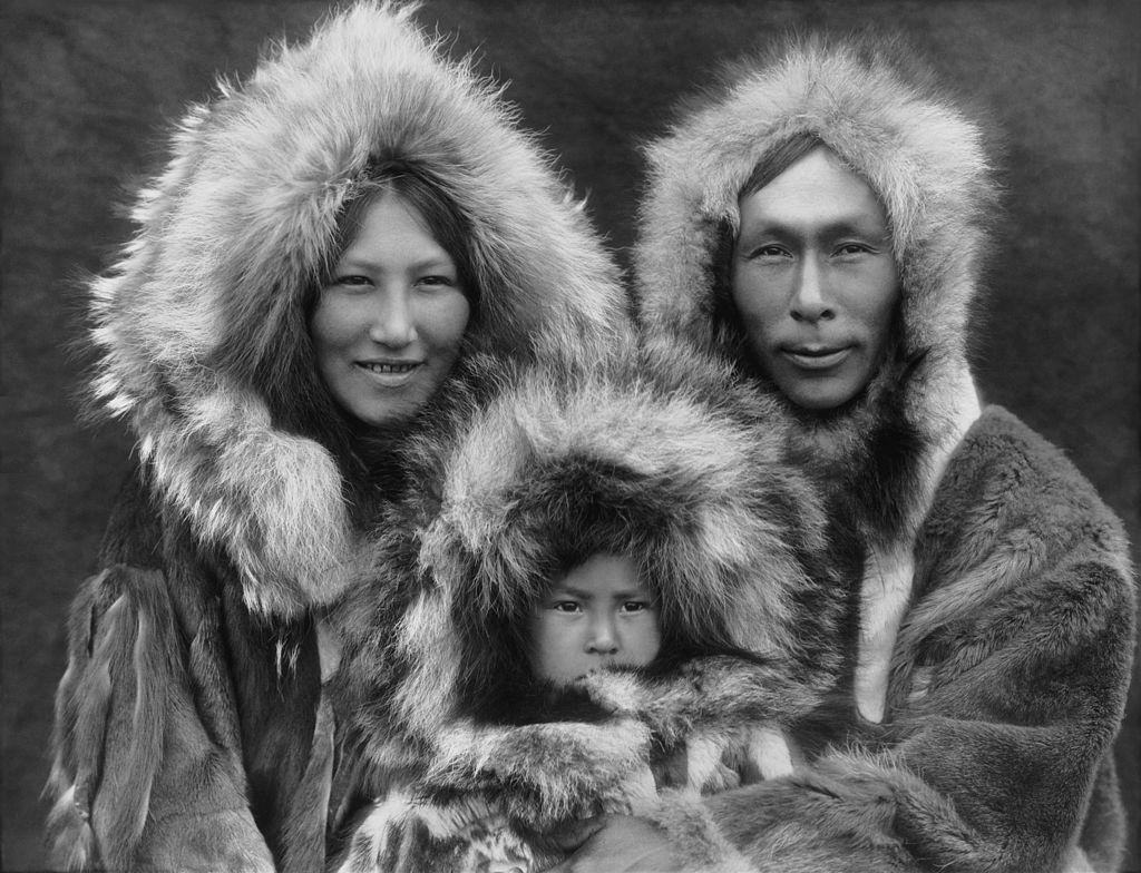 Familia Esquimal